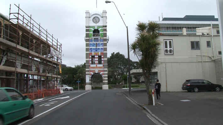 New Plymouth Clocktower